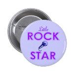 Botón de la estrella de Little Rock Pins