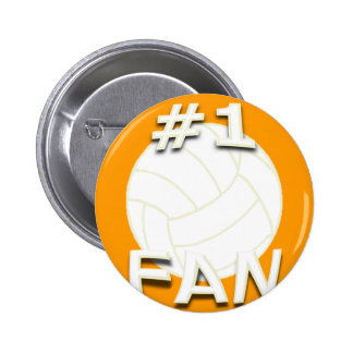 Botón de la fan del voleibol 1 pins