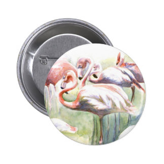 Botón de la fiesta del flamenco pin