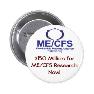 Botón de la financiación de MCWPA Pin Redondo De 2 Pulgadas