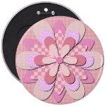 Botón de la flor - rosa pin