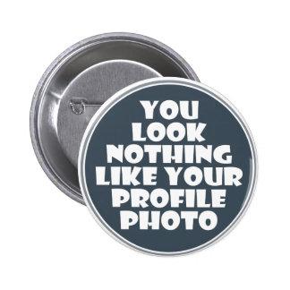 Botón de la foto del perfil pins