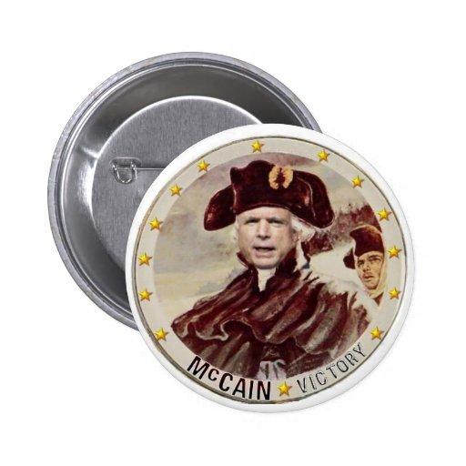 Botón de la fragua del valle de McCain Pin