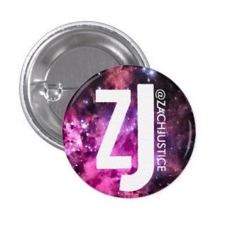 Botón de la galaxia de la justicia de Zach Pin