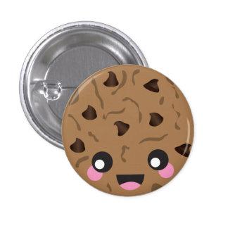 Botón de la galleta de Kawaii Pin Redondo De 1 Pulgada