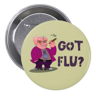 Botón de la gripe de los cerdos pins