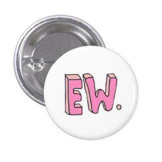 Botón de la guerra electrónica pin redondo de 1 pulgada