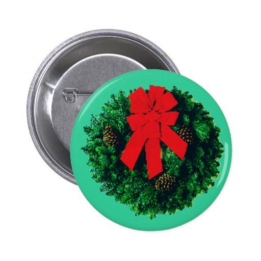 Botón de la guirnalda pin