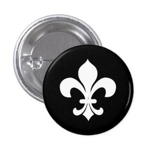 Botón de la heráldica Fleur-di-Lis Pins