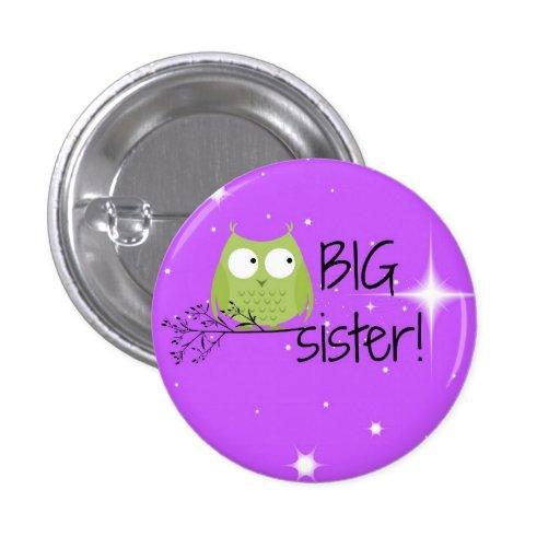 ¡botón de la hermana grande! pin