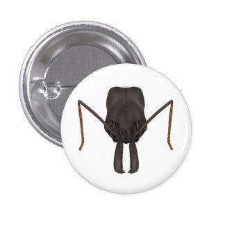 Botón de la hormiga del mandíbula de la trampa pin redondo de 1 pulgada