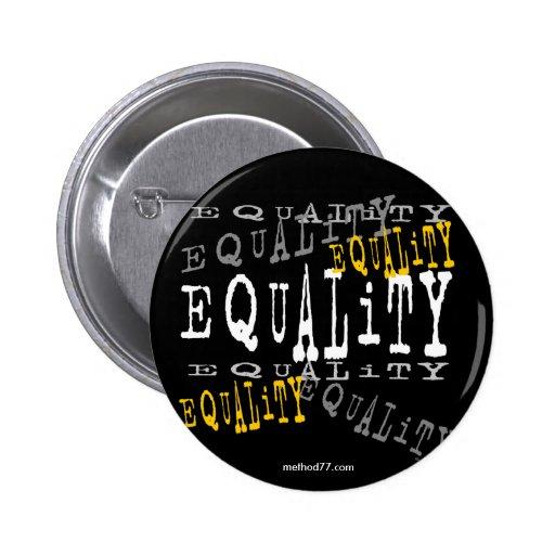 Botón de la igualdad pin