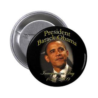 Botón de la inauguración de Obama Pin