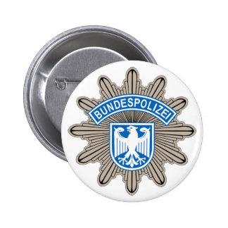Botón de la insignia de Bundespolizeistern Pin
