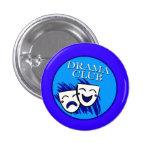Botón de la insignia del club del drama