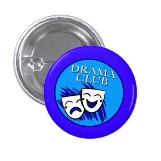 Botón de la insignia del club del drama pin