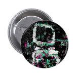Botón de la interferencia 0010 pin redondo de 2 pulgadas