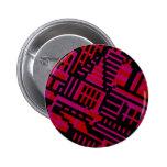 Botón de la interferencia 0013 pin redondo de 2 pulgadas