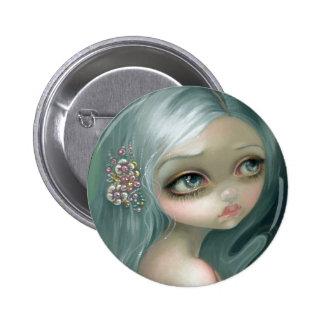 """Botón de la """"introspección de plata"""" pin redondo de 2 pulgadas"""
