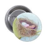 Botón de la jerarquía de los pájaros pin
