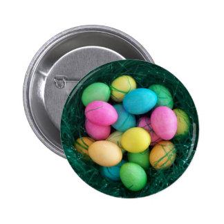 Botón de la jerarquía del huevo de Pascua Pin Redondo De 2 Pulgadas