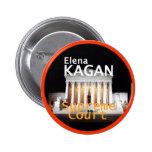 Botón de la justicia de Elena Kagan Pin