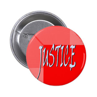 Botón de la justicia de Geo Pin Redondo De 2 Pulgadas