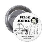Botón de la justicia de Pelosi Pins