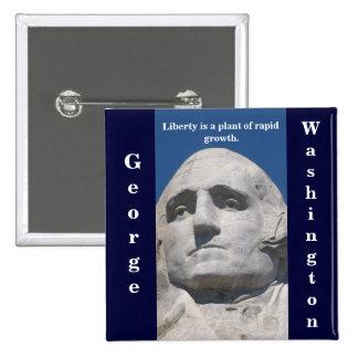 Botón de la libertad de Geroge Washington Pins
