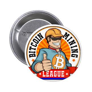 Botón de la liga de la explotación minera de