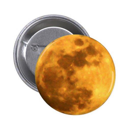 Botón de la Luna Llena Pins