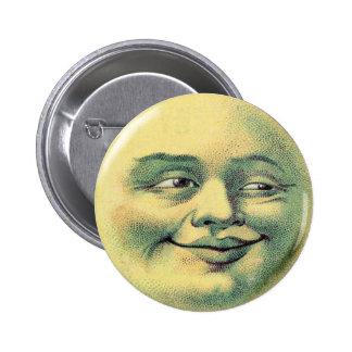 Botón de la luna pin