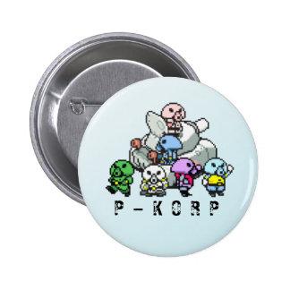 Botón de la madre de P-KORP Pin Redondo De 2 Pulgadas