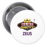 Botón de la MAMÁ kc de ZEUS Pin Redondo De 3 Pulgadas
