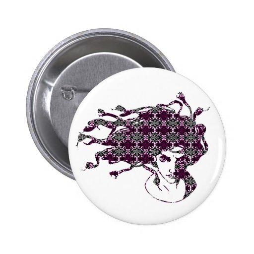 Botón de la MEDUSA Pins