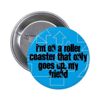 Botón de la montaña rusa TFIOS Pin Redondo De 2 Pulgadas