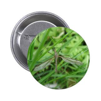 Botón de la mosca de grúa pin redondo de 2 pulgadas