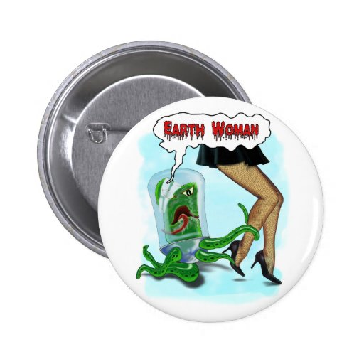 Botón de la mujer de la tierra