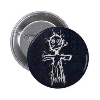 Botón de la muñeca del vudú pins