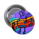Botón de la música de Hip Hop Pin