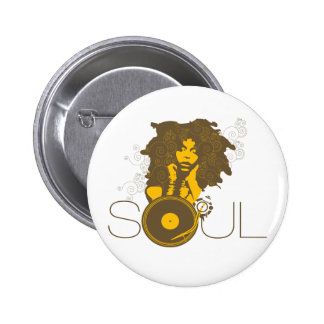 Botón de la música del alma pin