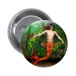 Botón de la natación del Merman Pins