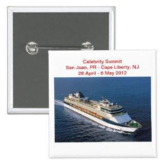 Botón de la nave de la cumbre de la celebridad
