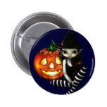 """""""Botón de la noche de Halloween"""" Pin"""