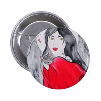 Botón de la noche de Samhain Pin Redondo De 2 Pulgadas