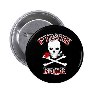 Botón de la novia del pirata pins