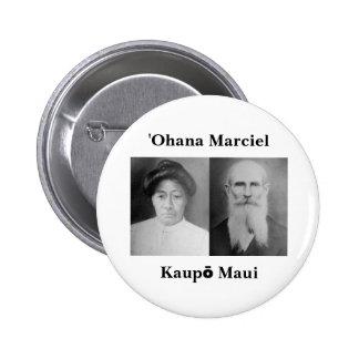 botón de la obra clásica de Marciel del ʻOhana Pin