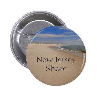 Botón de la orilla de NJ Pin Redondo De 2 Pulgadas