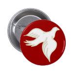 Botón de la paloma pin