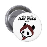 Botón de la panda de Andy Pin
